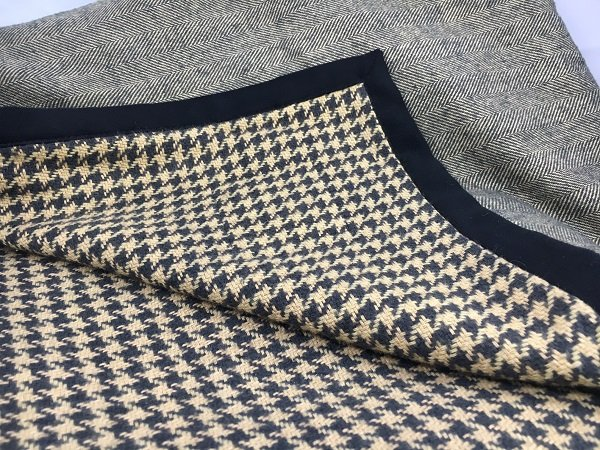 Downton Abbey Houndstooth Throw
