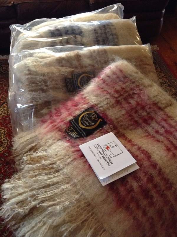 Kid Mohair Throw Selection by WHEW