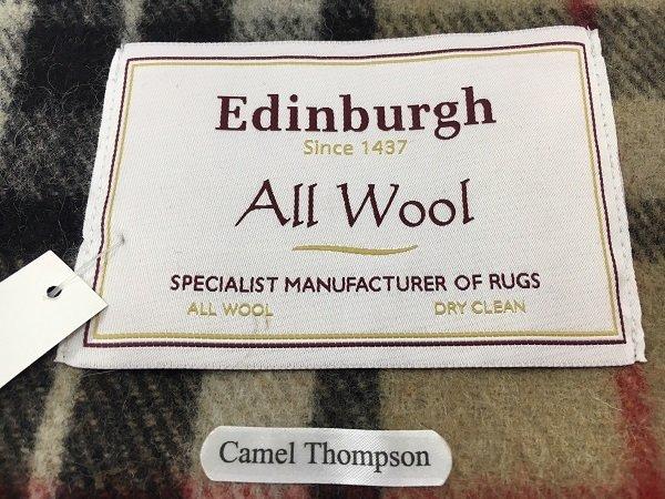 Camel Thompson Blanket Label