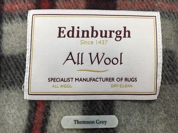 Thomson Grey Wool Blanket