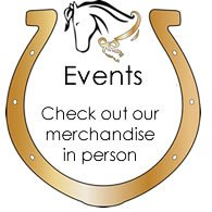 Check out our merchandise in person at an event- click for details