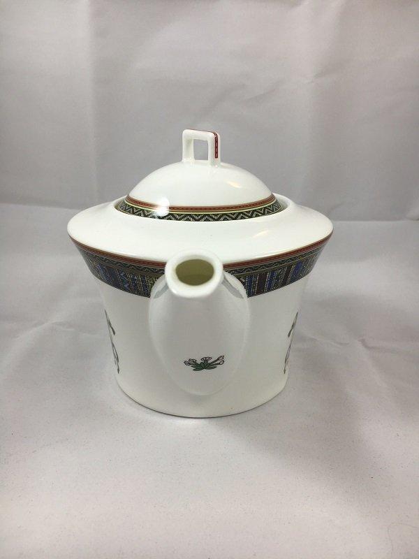 Aldeline Fine Porcelain Horse Tea Pot - Spout