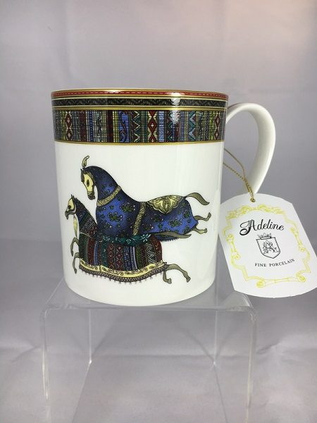 Aldeline Fine Porcelain Horse Mug