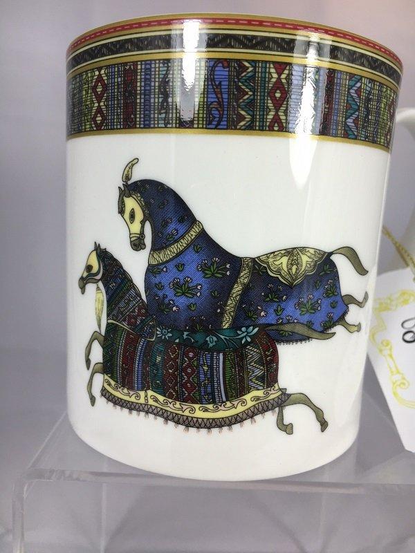 Aldeline Fine Porcelain Horse Mug - Pattern