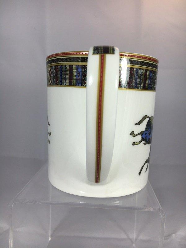 Aldeline Fine Porcelain Horse Mug - Handle