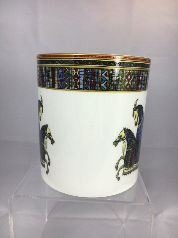 Aldeline Fine Porcelain Horse Mug - Side
