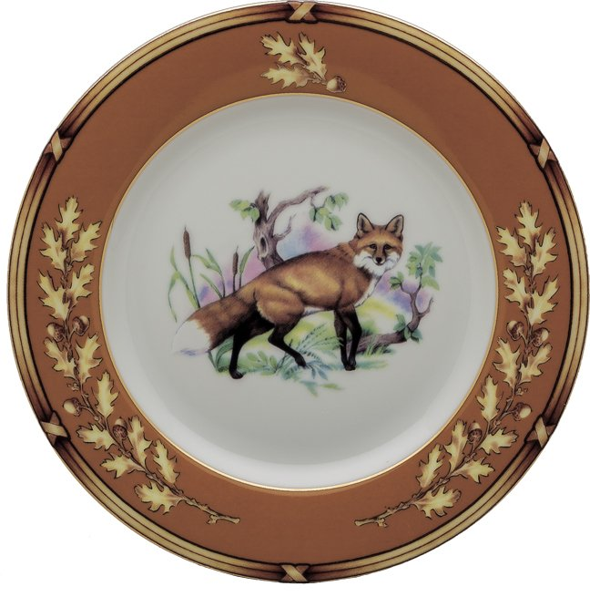 Julie Wear American Wildlife Salad Plate
